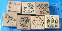 Tags & More Stampin' Up Rubber Stamp Set. $15.00, via Etsy.