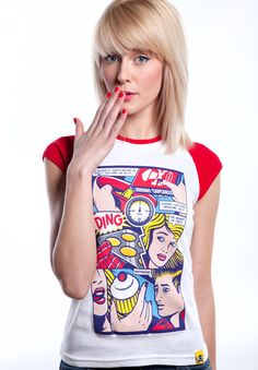 Just ordered this awesome comic book tee from Johnny Cupcakes :)