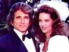Leslie Landon Michael Landon attends the wedding of his oldest