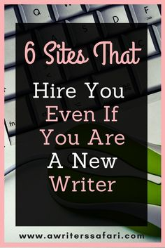 Not able to find an online writing job because you have no background or experience? Here, you have few legitimate sites that pay for your articles. Sites that accept writers with no experience