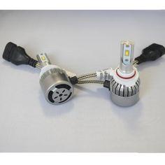 23.10$  Buy now - High Quality LED Car Auto Headlight Bulb 9005 Hi-Lo Beam COB Spot 12pcs Lamp Beads Led Headlights 36W 4800LM 6500K 12V 24V  #magazineonline