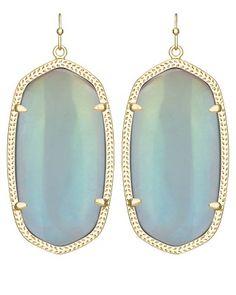 Danielle Earrings in Mystic Iridescent - Kendra Scott Jewelry. Coming soon!