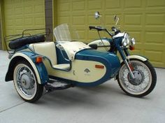 2000 URAL DECO CLASSIC 650 MOTORCYCLE WITH SIDECAR