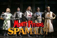 """Spamalot!  Saw it in NY and Vegas!  Hilarious!  Plus loved the movie """"Monty Python and the Holy Grail"""" that it sprang from!"""