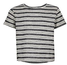 Nice black and white striped top!!!  River island
