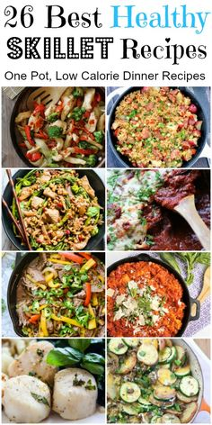 One Pot/Skillet recipes for dinner with almost no dishes