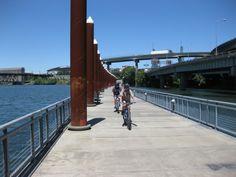 The Waterfront Bike Trail looks nice. How does it compare to our Lady Bird Lake Hike & Bike Trail? #ESTOroadtrip