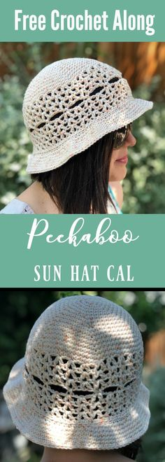 Join the Peekaboo Sun Hat Crochet Along! cal, crochet sun hat free pattern, crochet sun hat all sizes, free hat pattern, free crochet sun hat pattern, baby sun hat crochet, crochet baby hat, crochet hat free pattern, adult hat free crochet pattern, free crochet hat pattern