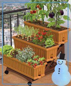 3 tier patio garden planter $90