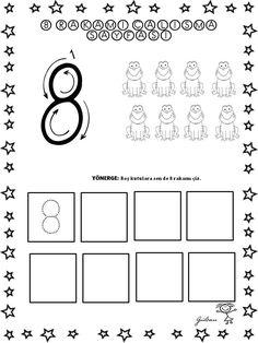 114 En Iyi 8 Sayisi Goruntusu 2020 Matematik Okul Oncesi Ve Okul