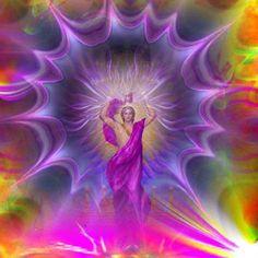 """Escuela Metafísica """"Maitreya"""": ARCÁNGEL ZADKIEL (INVOCACIÓN)"""