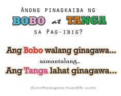 Tagalog Jokes - Best Funny Tagalog Jokes The best funny tagalog jokes, pinoy jokes, juan jokes tagalog, joke time pinoy, joke quotes tagalog Bitter Quotes Tagalog, Crush Quotes Tagalog, Tagalog Quotes Hugot Funny, Filipino Quotes, Pinoy Quotes, Filipino Funny, Love Sayings, Love Quotes Funny, Secret Crush Quotes