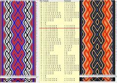 38 tarjetas, 6 colores, repite cada 32 movimientos // sed_782 diseñado en GTT༺❁