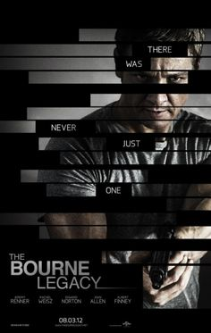 2012 The Bourne Legacy movie poster
