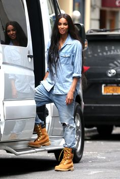 Ciara in the Limited Release Super Boot.