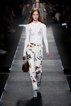 Look from the Louis Vuitton Women's Spring 2015 Fashion Show by Nicolas Ghesquière