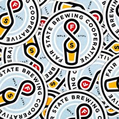 Fair State Brewing Cooperative Coasters