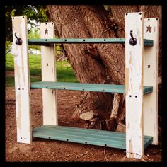Rustic and western pallet boot rack I just finished. Love the way this one turned out!!! This one is SOLD,but will be making more!