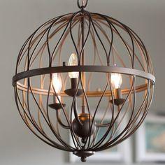 Brittain 3-Light Globe Pendant #birchlane