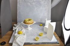 Lemon Bundt Cake & Food Photography: What is the best camera for food photography? Light!