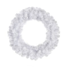 Buy the Polygroup Wreath, White at Michaels