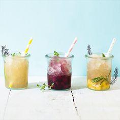 Granités fruités -  Fruits drinks for summer - Marie Claire