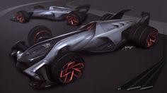 Free sketch - Lamborghini / F1 / Autonomous