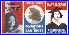 These inspired character posters feature Taraji P. Henson, Octavia Spencer and Janelle Monáe starring as Katherine G. Johnson, Dorothy Vaughan and Mary Jackson. Katherine Johnson, 1960s Inspired, Hidden Figures, Daily Math, Afro Art, Black Women Art, I Icon, African American Women, Music Tv