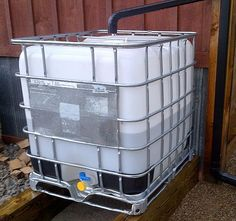 Creating A Simple And Inexpensive Rain Water Collection System