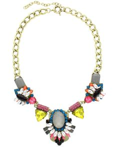 Spotted this Sparkling Sage Plated Crystal, Glass & Resin Collage Necklace on Rue La La. Shop (quickly!).