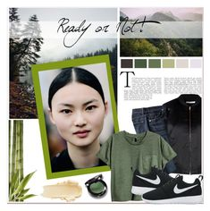 """Ready or not"" by janee-oss ❤ liked on Polyvore featuring Glamorous and NIKE"