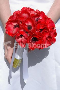 oriental pink red poppies bouquet - Google Search