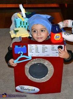 The Washing Machine Costume - Halloween Costume Contest via @costume_works