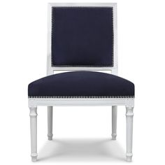 Love it at Jonathan Adler but would like to see if a more economical option exists.  Love the nailheads, the navy/white combo, the style