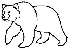 """Bear(native american) - The Bear symbol is known as a protector. The symbol of the bear denotes strength and also leadership. The bear is frequently mentioned as """"first helper"""" in creation & emergence stories. Outline Drawings, Animal Drawings, Art Drawings, Bear Pictures, Pictures To Draw, Drawing Pictures, Art D'ours, Bear Clipart, Bear Drawing"""