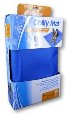 A chill mat to help keep your dog cool on a hot day. If you have used this, please leave a comment and let me know how it worked for you.