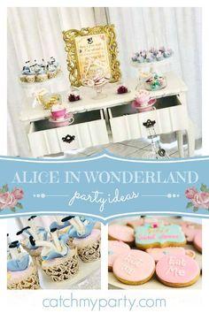 dd91218b2979 Alice in Wonderland   Bridal Wedding Shower