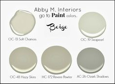 My Go To Paint Colors Beige Grey