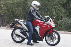 Learn to ride a motorbike
