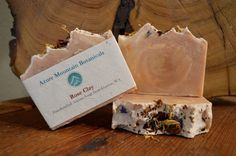 Azure Mountain ~ All Natural Handcrafted Soaps! Rose Clay, Calendula, Castor Oil, Jojoba Oil, Cocoa Butter, Essential Oil Blends, Jasmine, Egyptian, Artisan