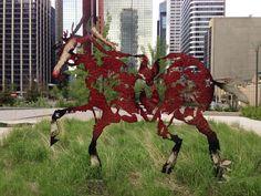 Calgary Alberta New West, Canada Day, Alberta Canada, Public Art, Calgary, Statues, Street Art, Moose Art, Art Pieces