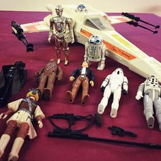 Original 1980s #Kenner #StarWars X-Wing Fighter and figures lot 407 in our #Vintage #Toys with #Antiques & #Collectables #auction this Weds. Catalogue available at townsend-auctions.co.uk  #kennertoys #kennerstarwars #starwarstoys #starwarscollectibles #starwarstoyfigs #vintagetoys