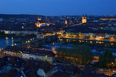 wuerzburg-germany-night-view