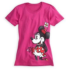 Disney Minnie Mouse Tee for Women | Disney StoreMinnie Mouse Tee for Women - Ms. Mouse takes the cake (cupcake, that is!) on a sweet organic cotton shirt with vintage-style Minnie graphics on both sides.