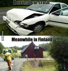 Meanwhile in Finland...