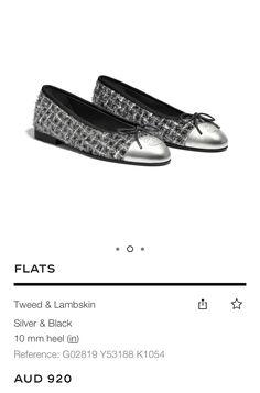 Tweed, Gucci, Flats, Heels, Silver, Fashion, Loafers & Slip Ons, Heel, Moda
