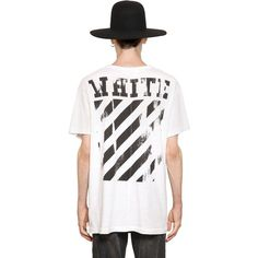 New. OFF-WHITE by VIRGIL ABLOH White Cotton Caravaggio Hooded ...