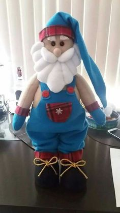 A piece 2015 Lovely Santa Claus Snowman Reindeer Christmas Decoration For Home Indoor Ornament Enfeites De Natal Blue Christmas Decor, Christmas Crafts, Christmas Decorations, Xmas, Christmas Ornaments, Winter Christmas, Christmas Ideas, Make Tutorial, Snapchat Picture