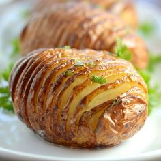 How to make a hasselback potato - The recipe for the jacket potato's prettier and tastier brother.