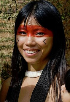 Look concurso fall nails polish - Fall Nails Native American Face Paint, Native American Girls, Native American Beauty, Tribal People, Tribal Women, Cultures Du Monde, World Cultures, Cherokees, Pretty People